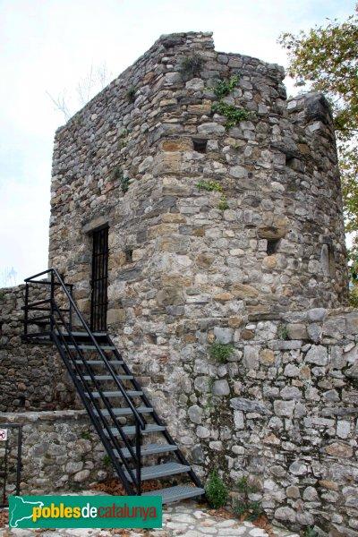 Sant Llorenç de la Muga - Torre de la muralla