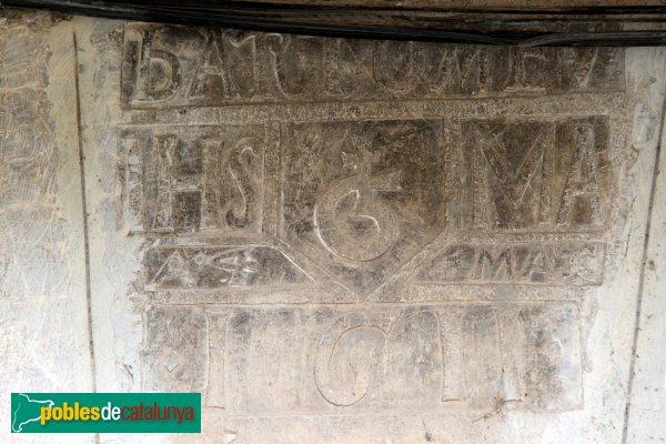 Sant Llorenç de la Muga - Llinda 1611