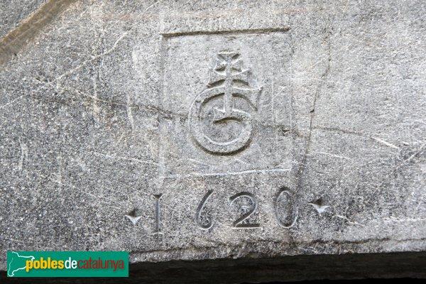 Sant Llorenç de la Muga - Llinda 1620
