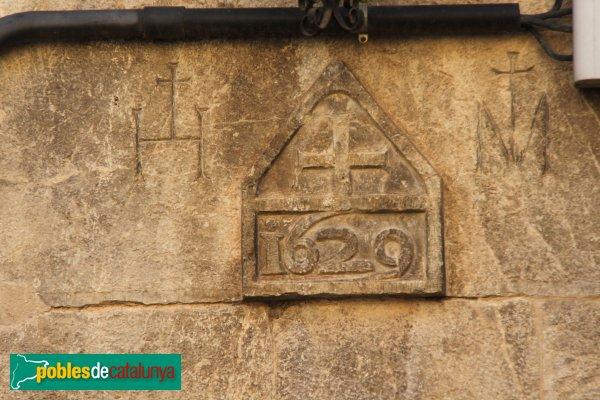Sant Llorenç de la Muga - Llinda 1629