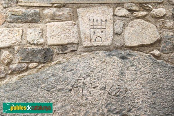 Sant Llorenç de la Muga - Llinda 1693