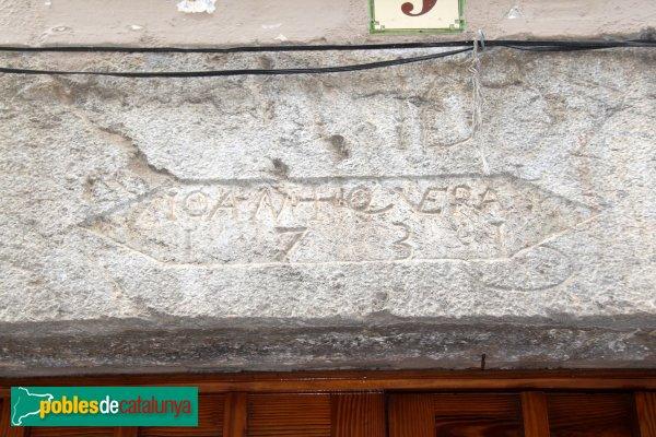 Sant Llorenç de la Muga - Llinda 1731