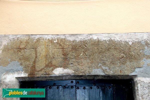 Sant Llorenç de la Muga - Llinda 1757