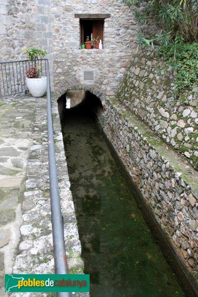 Sant Llorenç de la Muga - Canals de Rec