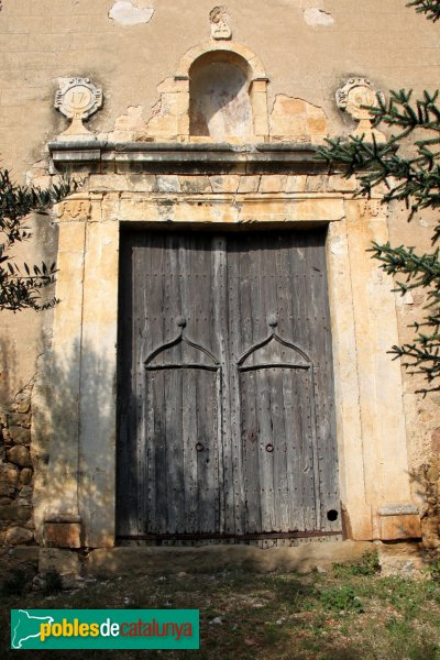 Lladó - Església de Sant Feliu, portada