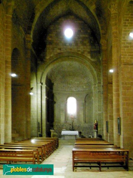 Lladó - Església de Santa Maria, interior