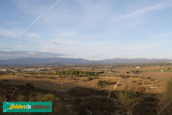 Figueres - Panoràmica des del Castell de Sant Ferran