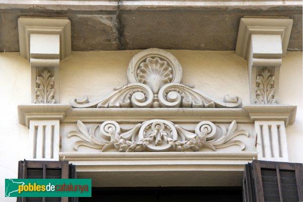 Figueres - Casa Trullol, detall