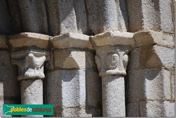 Bolvir - Santa Cecília - Detall portada
