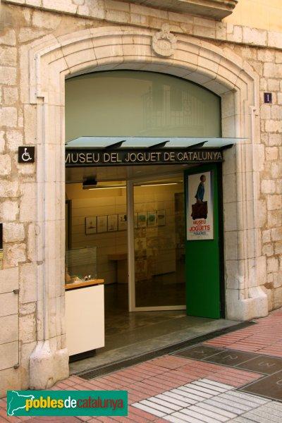 Figueres - Casa Terrades, porta carrer Sant Pere
