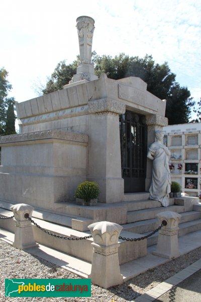 Figueres - Cementiri, Panteó de Personatges Il·lustres, de Rafael Puig