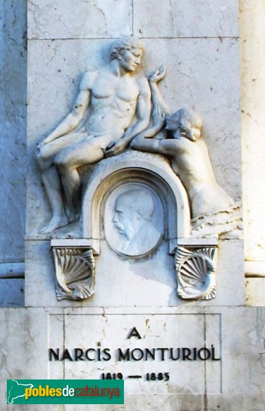 Figueres - Monument a Narcís Monturiol
