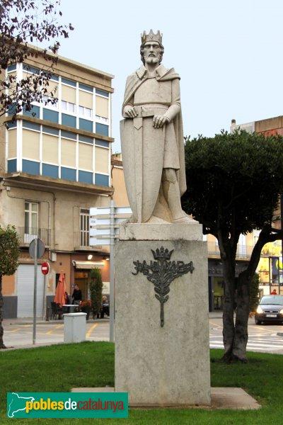Figueres - Estàtua de Jaume I