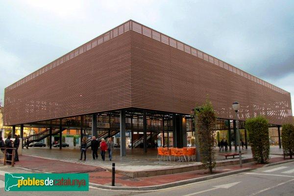 Figueres - Coberta fotovoltaica de Plaça Catalunya