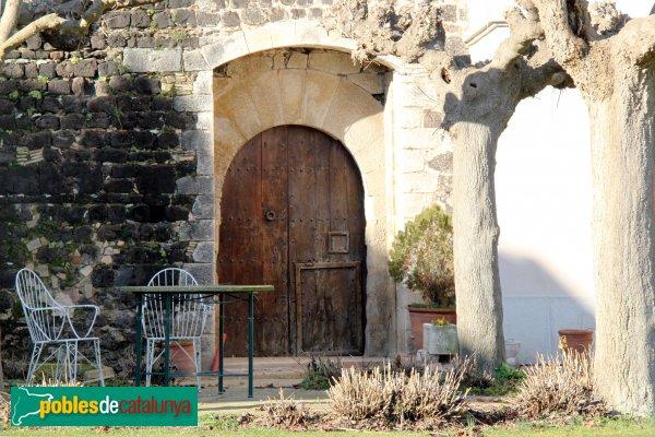 Vilobí d'Onyar - Castell, porta antiga