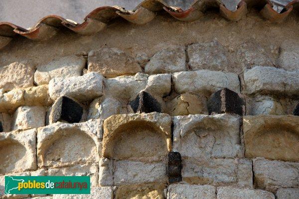 Caldes de Malavella - Església de Sant Esteve, detall de l'absis