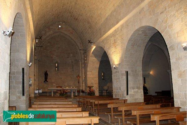 Caldes de Malavella - Església de Sant Esteve, interior