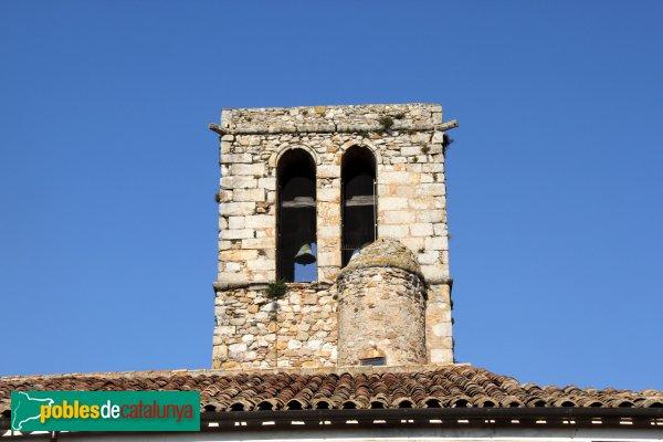 Caldes de Malavella - Església de Sant Esteve, campanar