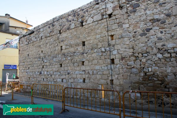 Caldes de Malavella - Muralla Medieval