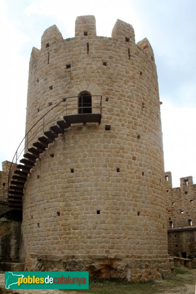 Santa Coloma de Farners - Castell de Farners, torre mestra