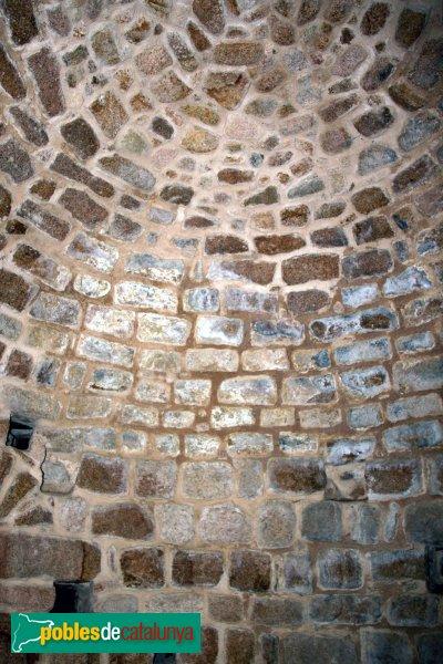 Santa Coloma de Farners - Castell de Farners, interior torre