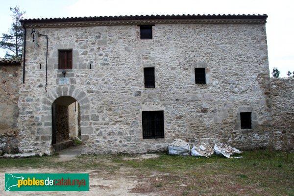 Santa Coloma de Farners - Sant Pere Cercada, masia