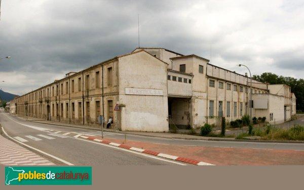Anglès - Fàbrica Burés