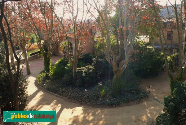 Arenys de Munt - Can Jalpí, el jardí