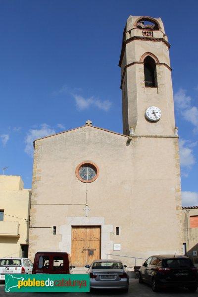 Mollet de Peralada - Església de Sant Cebrià