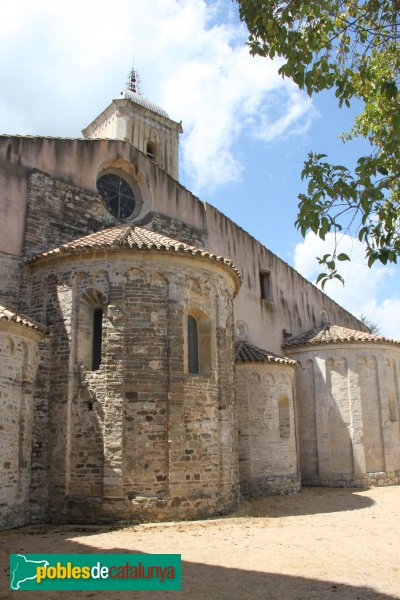 Amer - Monestir de Santa Maria, absis