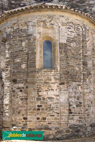 Amer - Monestir de Santa Maria, absis central