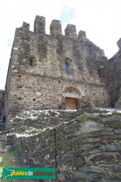 Rabós - Sant Quirze de Colera, façana de l'església