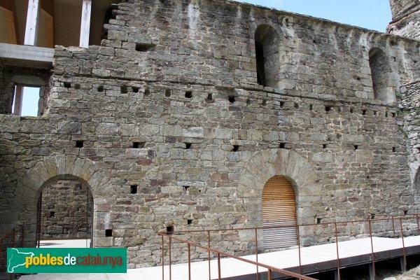 Rabós - Sant Quirze de Colera, dependències monacals