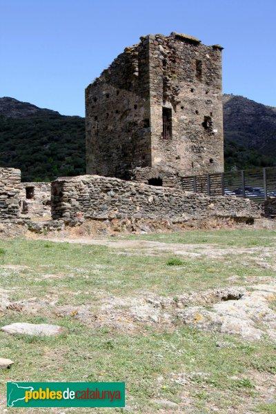 Rabós - Sant Quirze de Colera, torre de defensa