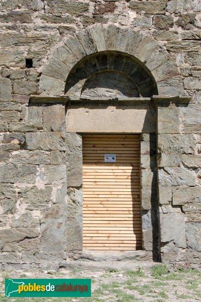 Rabós - Santa Maria de Colera, porta