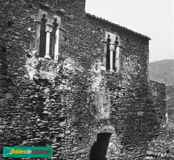 Rabós - Sant Quirze de Colera, casa de l'Abat