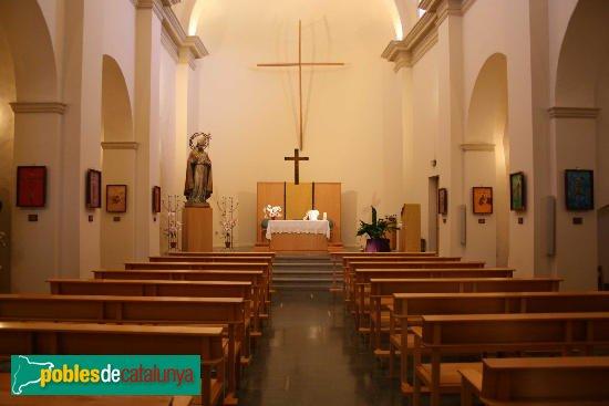 Sant Climent Sescebes - Església