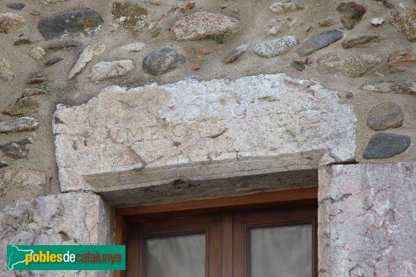 Sant Climent Sescebes - Llinda del segle XVII