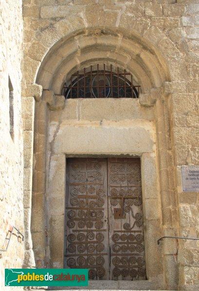 Capmany - Església de Santa Àgata