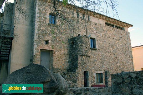 Capmany - Baronia, façana posterior