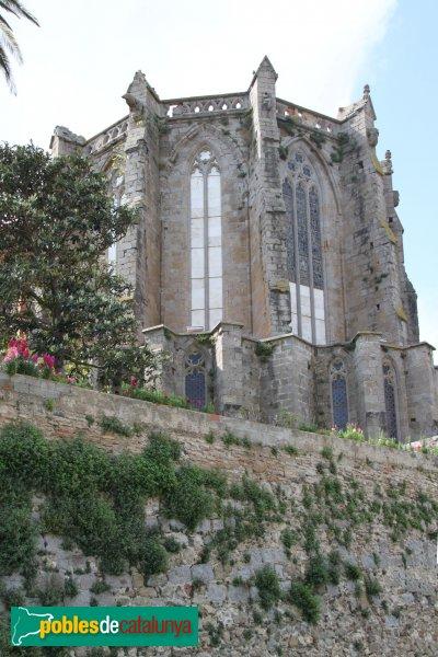 Castelló d'Empúries - Església de Santa Maria, absis
