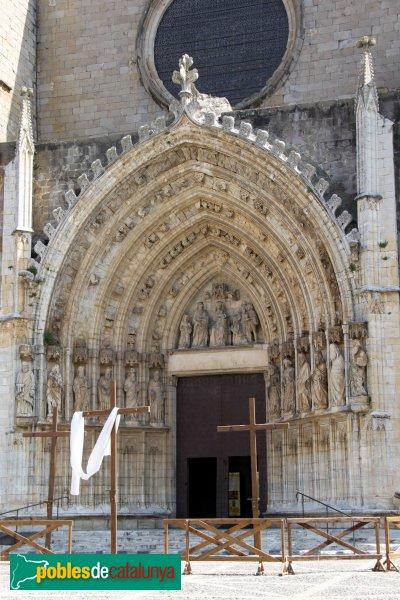 Castelló d'Empúries - Església de Santa Maria, portada