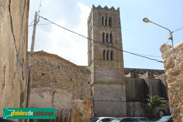 Castelló d'Empúries - Església de Santa Maria, campanar