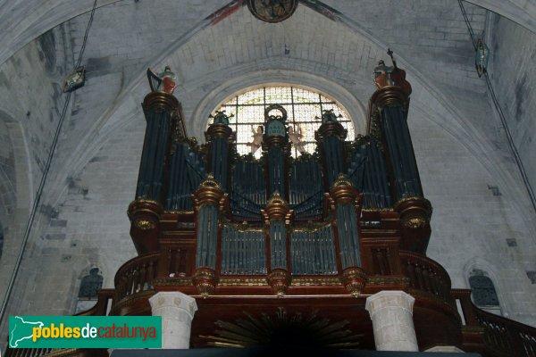 Castelló d´Empúries - Basílica de Santa Maria, orgue
