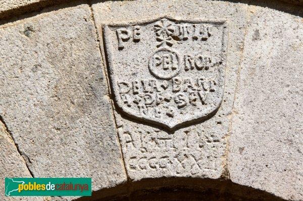Castelló d´Empúries - Casa Ametlla, llinda