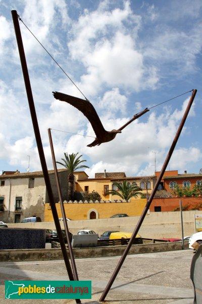 Castelló d´Empúries - Monument a Joan Alsina