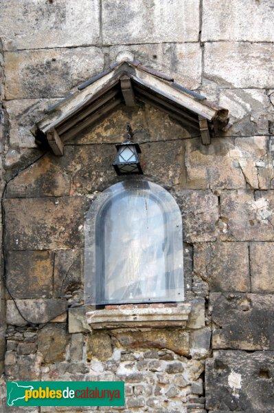 Barcelona - Porta de la muralla romana, capella
