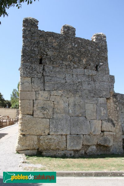 Olèrdola - Torre de la muralla