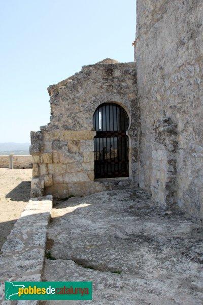 Olèrdola - Església de Sant Miquel, capçalera de l'església antiga