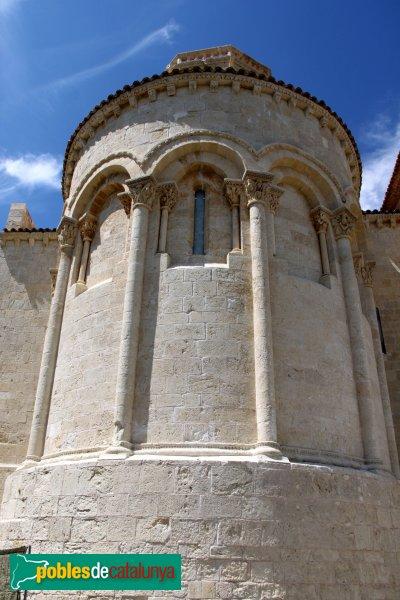 Sant Martí Sarroca - Església de Santa Maria, absis